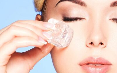 Why applying ice can help alleviate acne