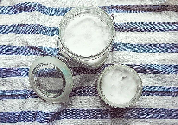 Coconut oil for skincare.
